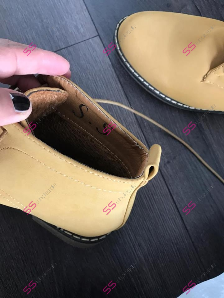 a2c487af0102 Členkový obuv na šnurovanie Ronna
