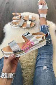 367501ab0eb2 Platformové sandále Sofie