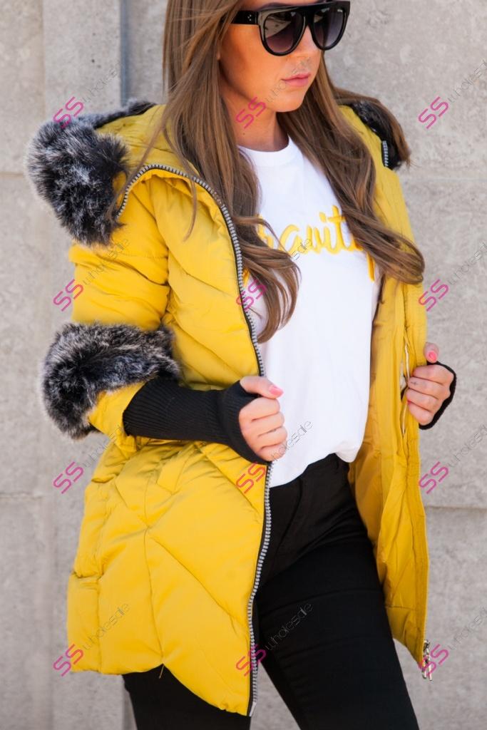 Zimná bunda s kožušinou PILAR   029b272880d