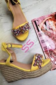 4677a5cfe321 Platformové sandále JESSAMINE