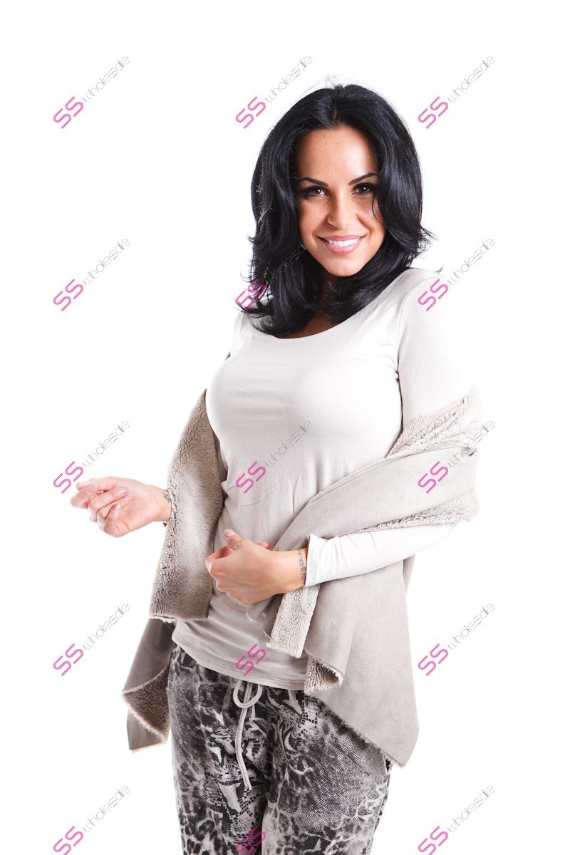 Vesta s umelou kožušinkou  f1f720d6691